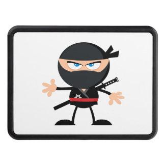Cartoon Ninja Warrior Trailer Hitch Covers