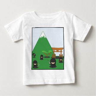 Cartoon Ninjas (in the countryside) Baby T-Shirt