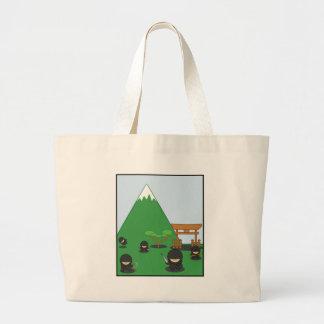Cartoon Ninjas (in the countryside) Bags