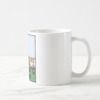 Cartoon Ninjas (in the countryside) Coffee Mug