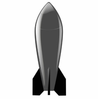 Cartoon Nuclear Bomb Acrylic Cut Outs
