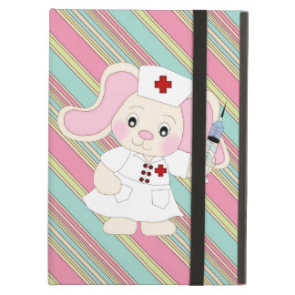 Cartoon Nurse Bunny iPad Air Powis case