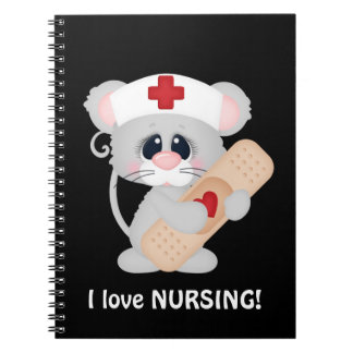Cartoon Nurse cartoon fun notebook