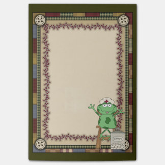 Cartoon Nurse Frog Post-it-notes Post-it Notes