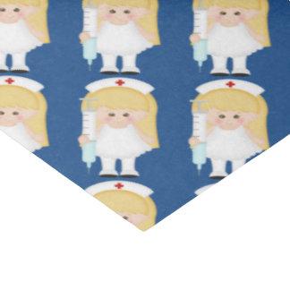 "Cartoon Nurse fun tissue paper 15"" X 20"" Tissue Paper"