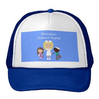 Cartoon Nurse & Kids Children's Hospital Custom Trucker Hat