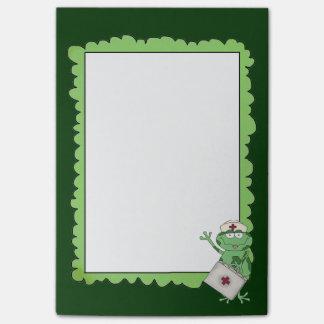Cartoon Nurse Postit note pad Post-it® Notes