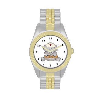 Cartoon Nurse wrist watch