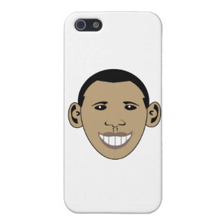 Cartoon Obama Cover For iPhone SE/5/5s