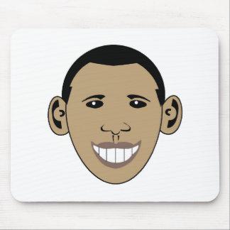 Cartoon Obama Mouse Pad