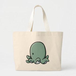 Cartoon Octopus Canvas Bags