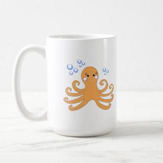 Cartoon Octopus Coffee Mug