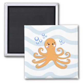 Cartoon Octopus Magnet