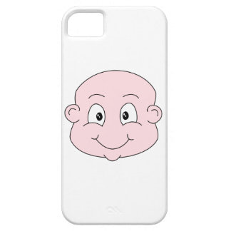 Cartoon of a cute baby, smiling. iPhone SE/5/5s case