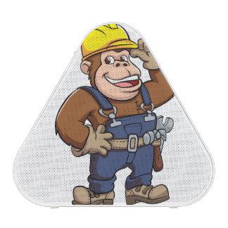 Cartoon of a Gorilla Handyman Bluetooth Speaker