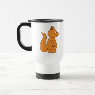 Cartoon of a Red Squirrel Coffee Mugs