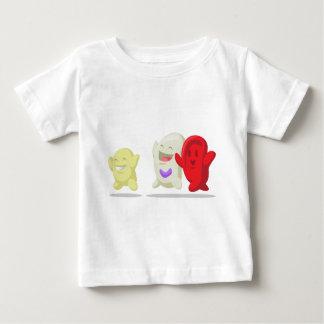 Cartoon of Blood Cell - Erythrocytes, Leukocytes, Baby T-Shirt