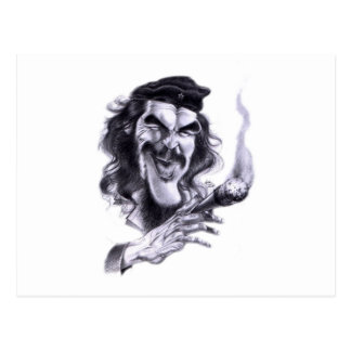 Cartoon of Che Guevara Postcards