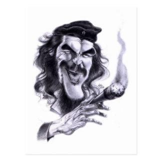 Cartoon of Che Guevara Post Cards