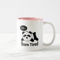 Cartoon of Cute Sleeping Panda Mug