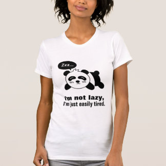 Cartoon of Cute Sleeping Panda Shirt