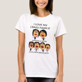 Cartoon of My Hilarious Four Sons T-Shirt