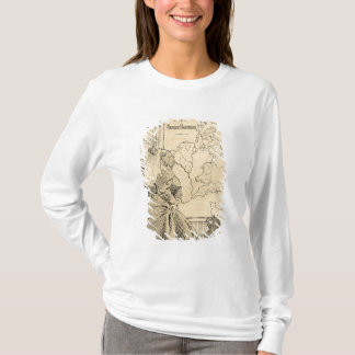 Cartoon of Queen Victoria from Le Rire T-Shirt