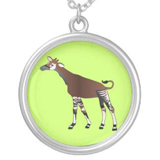 Cartoon Okapi necklace