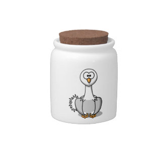 Cartoon Ostrich Candy Jars
