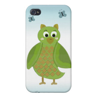 Cartoon Owl Cases For iPhone 4