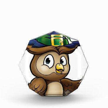 Halloween Themed Cartoon Owl Character Award