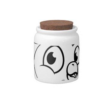 Halloween Themed Cartoon Owl Character Candy Dish