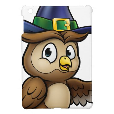 Halloween Themed Cartoon Owl Character Case For The iPad Mini