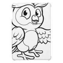 Cartoon Owl Character Case For The iPad Mini