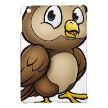 Cartoon Owl Character iPad Mini Cover