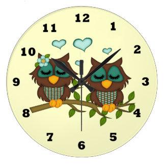 Cartoon Owl clock