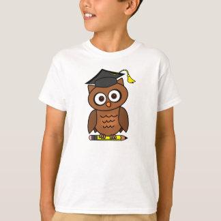 Cartoon Owl Graduation Image T-Shirt