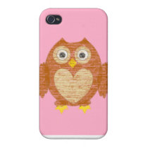 Cartoon owl IPhone Cover For iPhone 4
