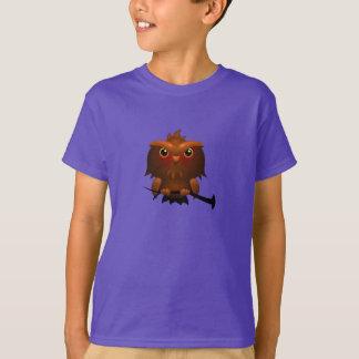 Cartoon Owl - Kids T-Shirt