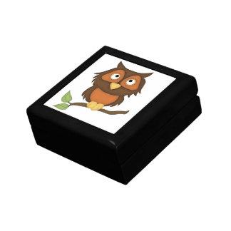 Cartoon Owl (mahogany) Gift Box