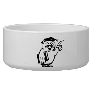 Cartoon Owl Pet Water Bowls