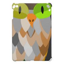 Cartoon Owl Sitting Cover For The iPad Mini