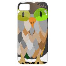 Cartoon Owl Sitting iPhone SE/5/5s Case