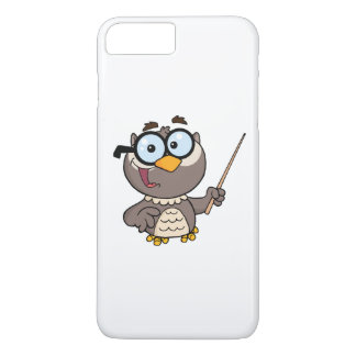Cartoon Owl Teacher iPhone 8 Plus/7 Plus Case