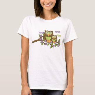 Cartoon Owl Womens t-shirt
