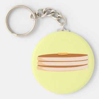 Cartoon pancakes Keychain