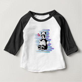Cartoon Panda Bear Stuffed Animal Baby T-Shirt
