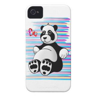 Cartoon Panda Bear Stuffed Animal Case-Mate iPhone 4 Case