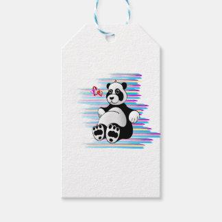 Cartoon Panda Bear Stuffed Animal Gift Tags