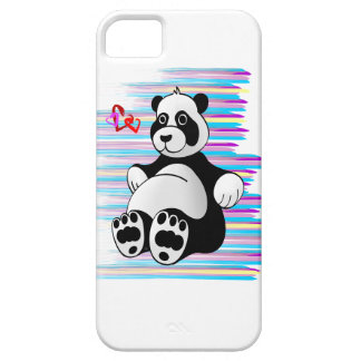 Cartoon Panda Bear Stuffed Animal iPhone SE/5/5s Case